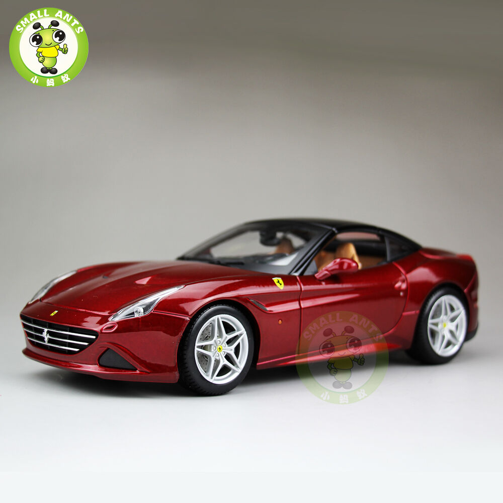Ferrari california  1,18 maßstab nicht nein auto modell burago bbu16902 rot
