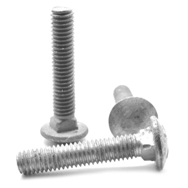 "1//2-13 x 6-1//2/"" Hex Bolts Hot Dip Galvanized Cap Screws and Nuts Quantity 25"