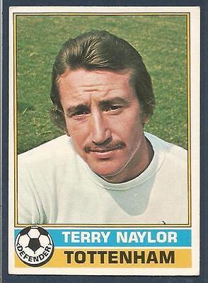 TOPPS 1977 FOOTBALLERS #171-TOTTENHAM HOTSPUR-TERRY NAYLOR