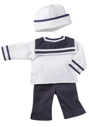 Bambole VESTITI BAMBOLE Marinaio Vestito vestito da marinaio per 30-33 CM bambole TESTA GIREVOLE