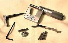 Mitutoyo Model 117 107 Uni Mic Multi Anvil Micrometer 0 1 0001