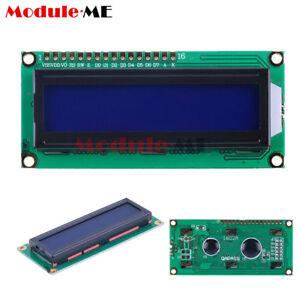 5PCS 1602 16x2 Character LCD Display Module HD44780 Controller Yellow Blacklight