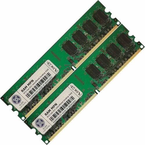 Memory Ram 4 Asus Motherboard Desktop P5K Premium P5KPL//1600 2x Lot DDR2 SDRAM