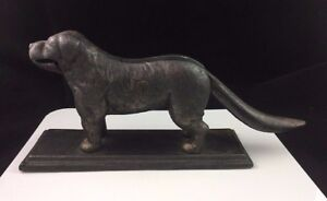 Antique-Cast-Iron-Dog-Nut-Cracker-Bailey-Burruss-Atlanta-Georgia-Nutcracker-1910