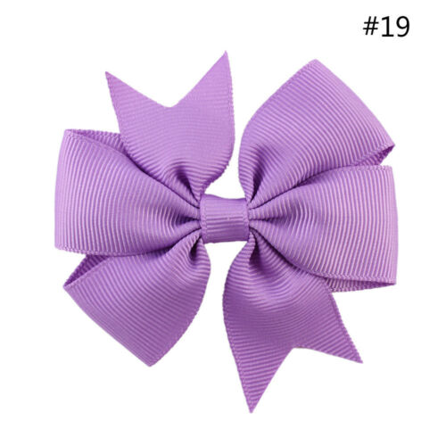 1PC  Multicolor Ribbon Boutique With Clip Hairpins Kids Girl Hair Accessories