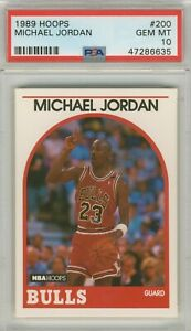1989-Hoops-Michael-Jordan-200-Basketball-Card-PSA-10-Gem-Mint