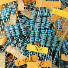 500pcs 100 Values 1 1ohm1m 1w 1 Watt Metal Film Resistor Assortment C