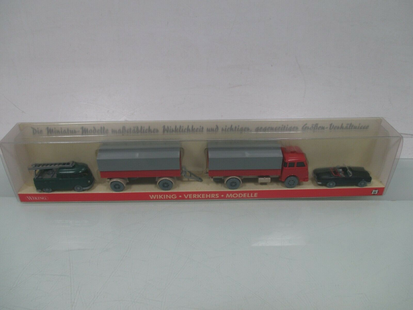 Wiking 1 87 pms-189065 Wiking. transporte. los modelos de salida nº 23 embalaje original (wm5592)
