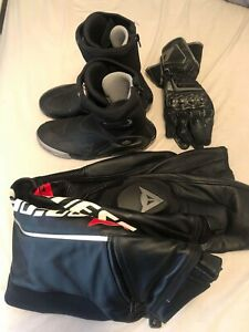 Dainese-Racing-Motorcycle-Gear-Gloves-Pants-Boots