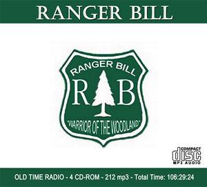 RANGER BILL - OLD TIME RADIO - 4 CD-ROM - 221 mp3 Total
