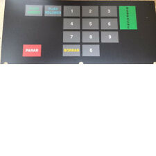 Tokheim 3-232840 Premier B, 4 x 6 keypad overlay (español)