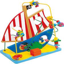 Motorikschleife Piratenschiff Kinder Motorik Geschicklichkeit Pirat Schiff NEU