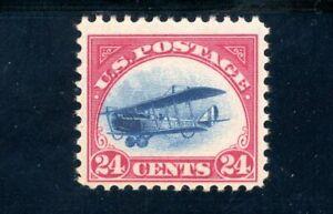 USAstamps-Unused-FVF-US-Airmail-Jenny-Scott-C3-OG-MNH-Fast-Plane
