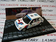 voiture 1/43 IXO Altaya Rallye : PEUGEOT 205 GTI Isola Elba 1985 Riva #27