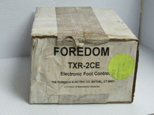 Foredom Foot Speed Control TXR-2CE TXR2CE 220//240V 1.5A A Amps 50-60Hz 1205 New