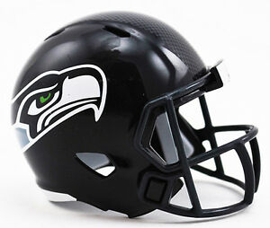 32f01e61a2b31 Image is loading SEATTLE-SEAHAWKS-NFL-Riddell-Speed-MICRO-POCKET-SIZE-