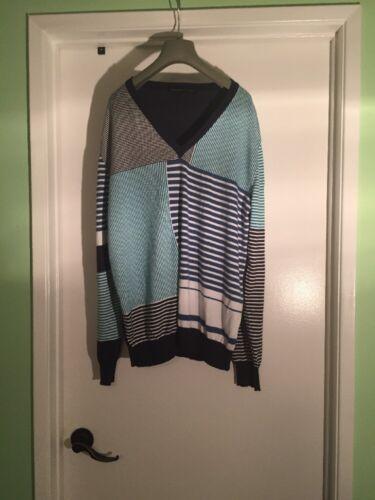 auth ETRO Milano cotton sweater - Size 2XL