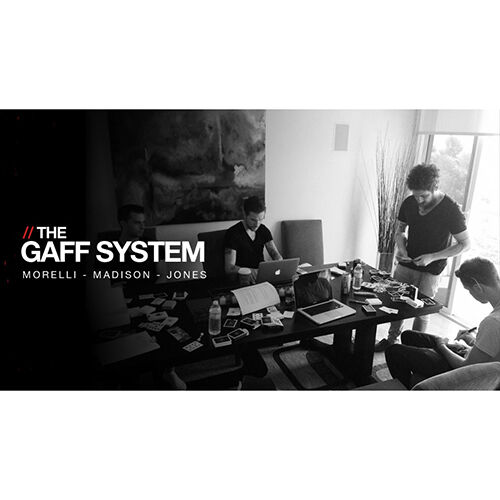 The Gaff System by Madison, Morelli, Jones and Ellusionist - originale