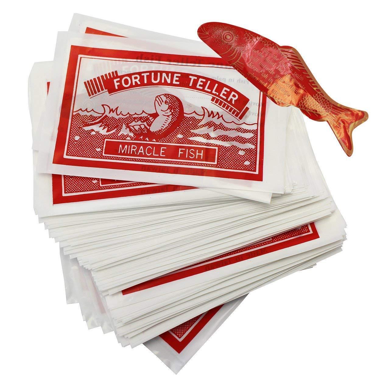 MIRACLE FORTUNE TELLING FISH PARTY BAG FILLER WEDDING FAVOUR FUNNY JOKE GIFT