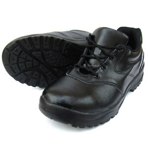 image is loading mens chef shoes leather non slip safety for - Non Slip Kitchen Shoes