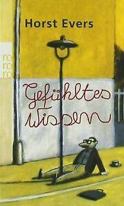 Gefuehltes-Wissen-von-Evers-Horst-Buch-Zustand-gut