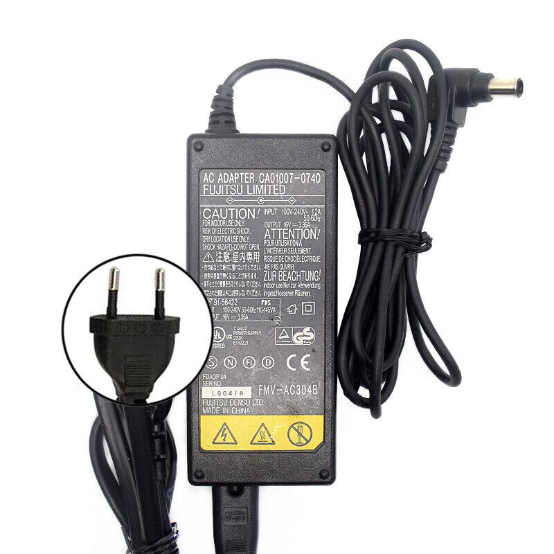 16V 3.36A Fujitsu Power Supply AC Adapter CA01007-0740 6.5mm*3.5mm