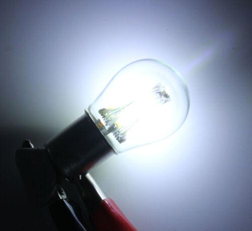 2x 1156 BA15S COB LED Auto Rücklicht Blinker Bremslicht 12V24V 4W Deutsche Post