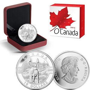 2013-O-Canada-1-2-oz-Silver-10-Caribou