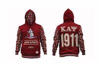 Kappa Alpha Psi Fraternity Hoodie Jacket Pullover Hoody Jacket M-5x
