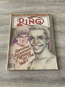 The-Ring-Boxing-Magazine-March-1982-Sanchez-Leonard