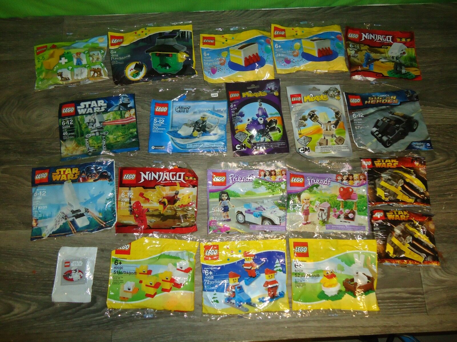 Lego misb factory sealed baggies set lot