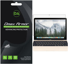 [3-Pack] Dmax Armor Clear Screen Protector For MacBook 12 inch (2015 To 2017)