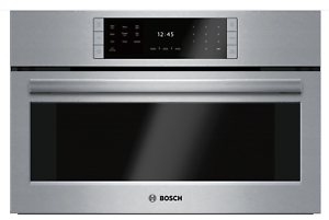 Bosch-HSLP451UC-Benchmark-Series-30-Stainless-Steel-Steam-Convection-Oven-New