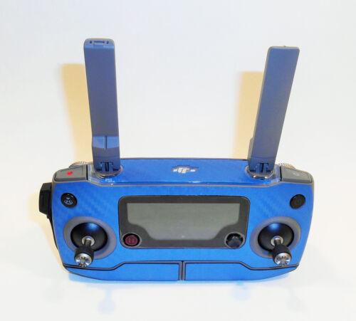 3-5 pilas-robot DJI Mavic 2 pro//zoom-Skin-carbon azul//carbon Blue