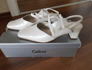 size 40 01e1b 30a17 Details zu Hochzeitsschuhe, Schuhe, Sandalen von Gabor Gr.36