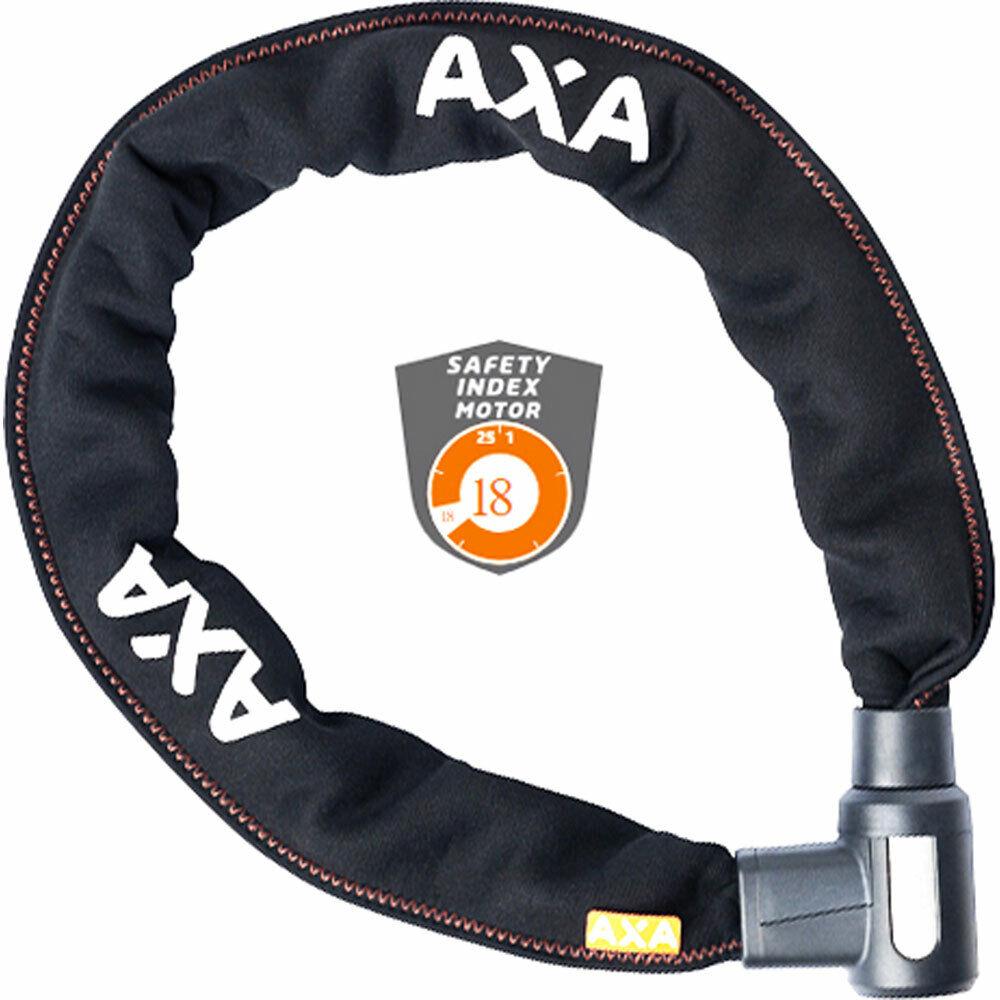 Cerradura de cadena AXA ProCocheat + bicicleta 105 cm negro