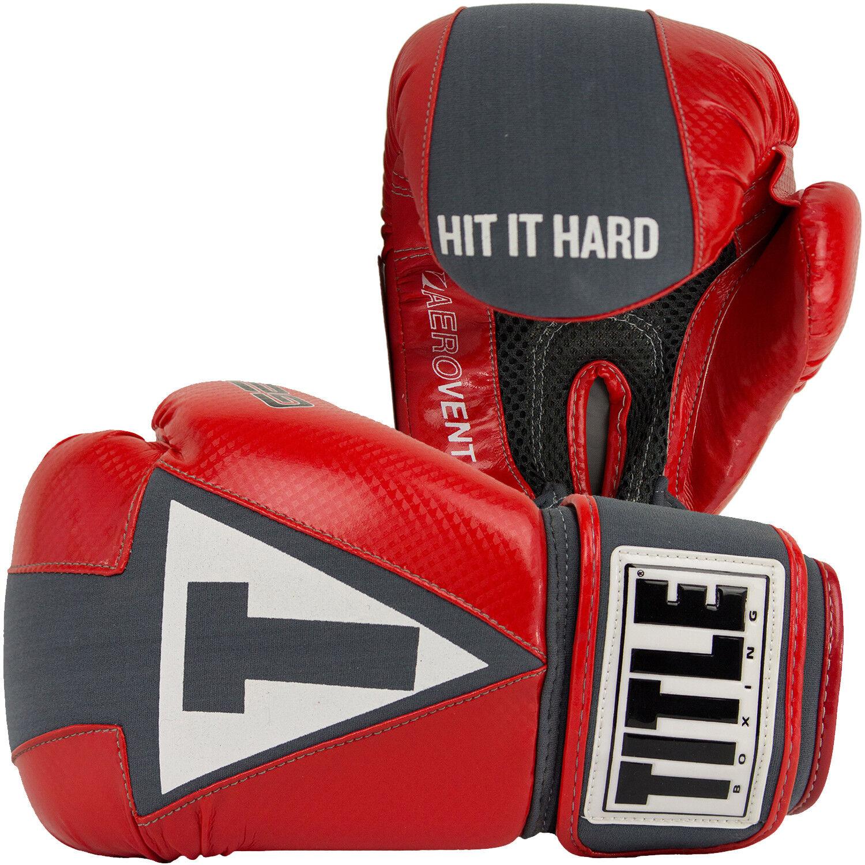 Title Gel Aerovent Waschbar Fitness Handschuhe Handschuhe Handschuhe ( Rot/Grau) 1739f9