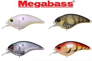 Megabass SonicSide Squarebill Crankbait **CHOOSE COLOR**