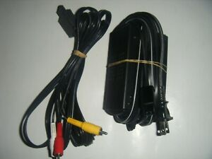 GENUINE-NINTENDO-GAMECUBE-DOL-002-POWER-SUPPLY-ADAPTER-w-AV-CABLES-Cords