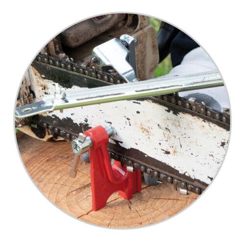 Tecomec 10909008 Stump Chain Filing Vise W//stop pawel for all chainsaws /& bars