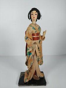 "Old Japanese Geisha Doll, Appr. 12.5""/32cm"