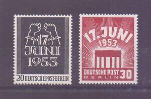Berlin-1953-Volksaufstand-MiNr-110-111-postfrisch-Michel-50-00-721