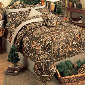 Realtree Max 4 Camo Comforter Set Bed In A Bag