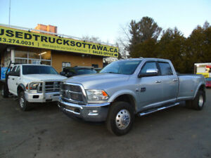 2012 Ram 3500 4x4  Longhorn Diesel   /   Finance or Lease 4.99%
