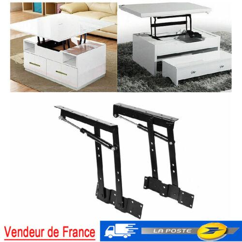 Lift  Table de Café DIY Mécanisme Matériel de levage charnière meubles Spring