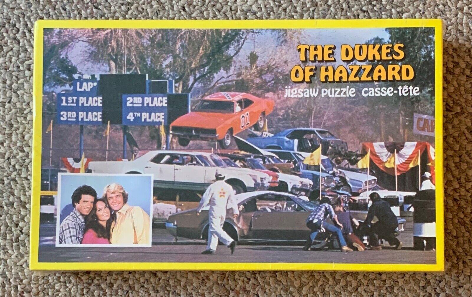 Los Dukes de Hazzard Rompecabezas Cerrado 1981 American Publishing 200 piezas