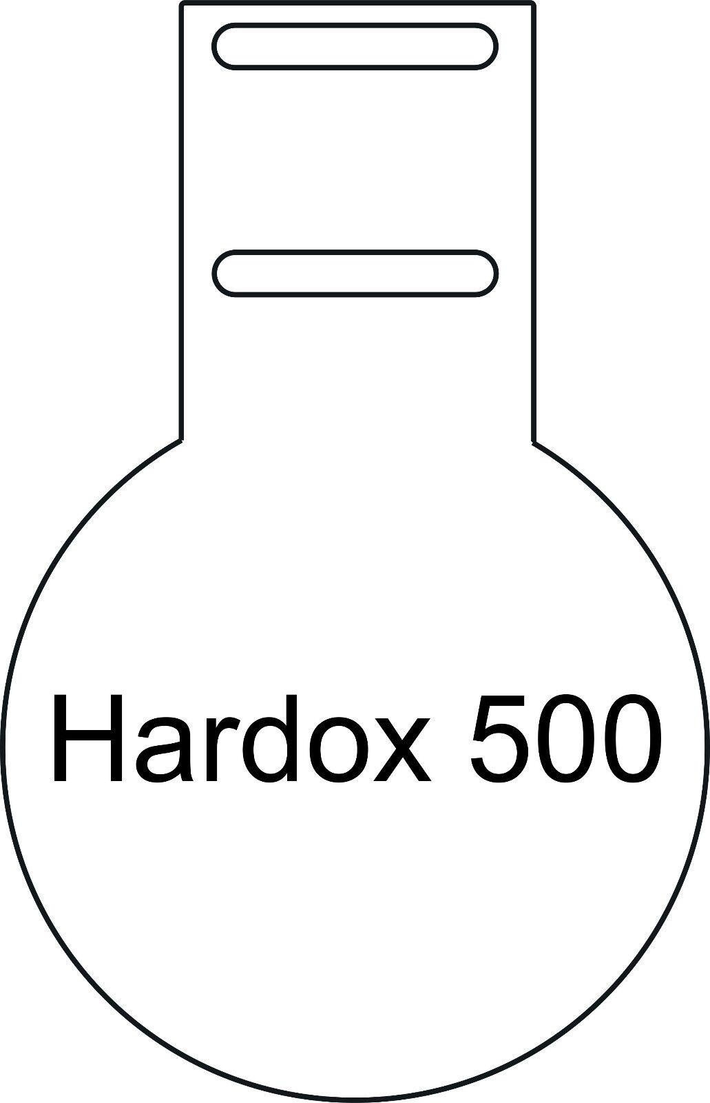 Kugelfang Hardox 500 - Stärke 4mm - - - D= 200,300,400mm - Anschraubbar 371216