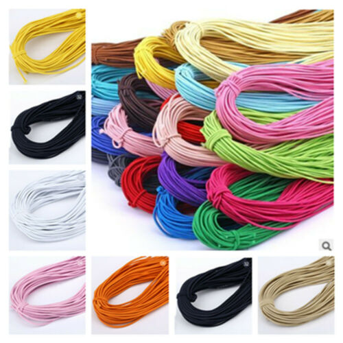 2mm high elastic round elastic band elastic rubber band sewing accessories 45M