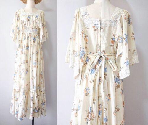 Vintage Candi Jones Of California Maxi Dress