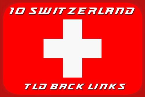SEO I will create 10 switzerland tld back links 10 Schweizer tld Backlinks